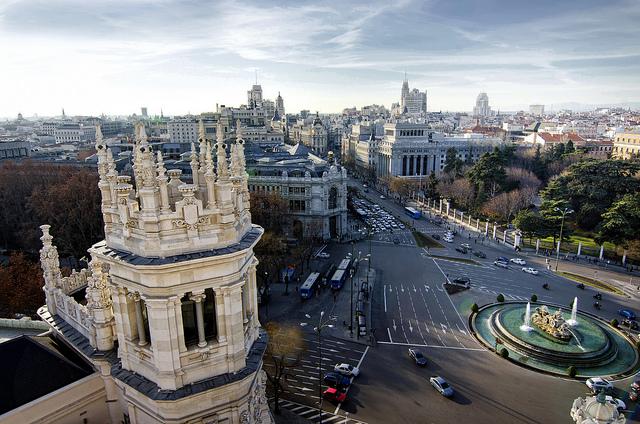 mejores terrazas Madrid - Terraza de Cibeles
