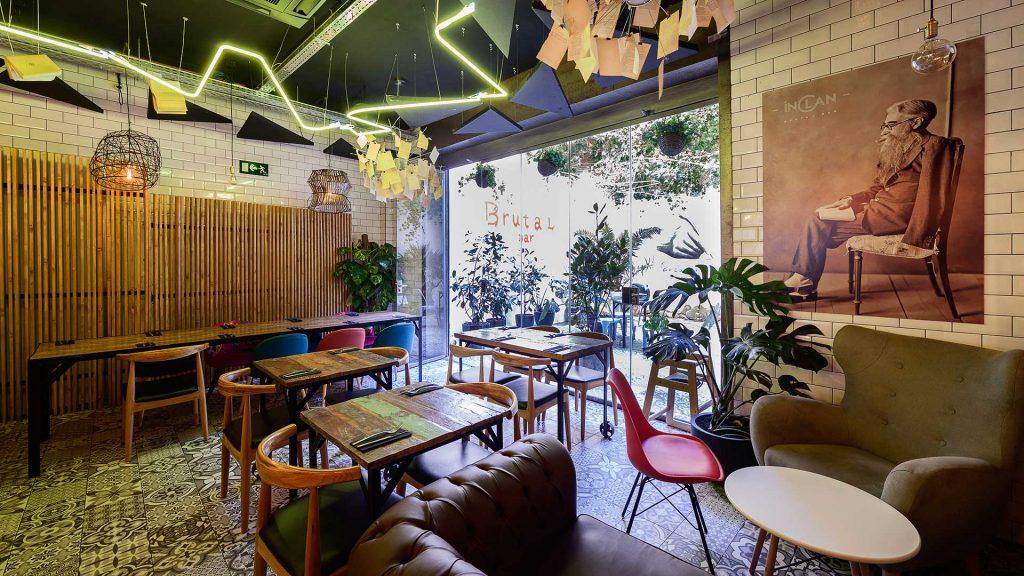 Inclán Brutal Bar - Restaurantes buenos, bonitos y baratos Madrid