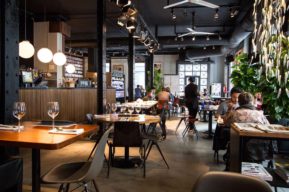 Diurno - Restaurantes buenos, bonitos y baratos Madrid