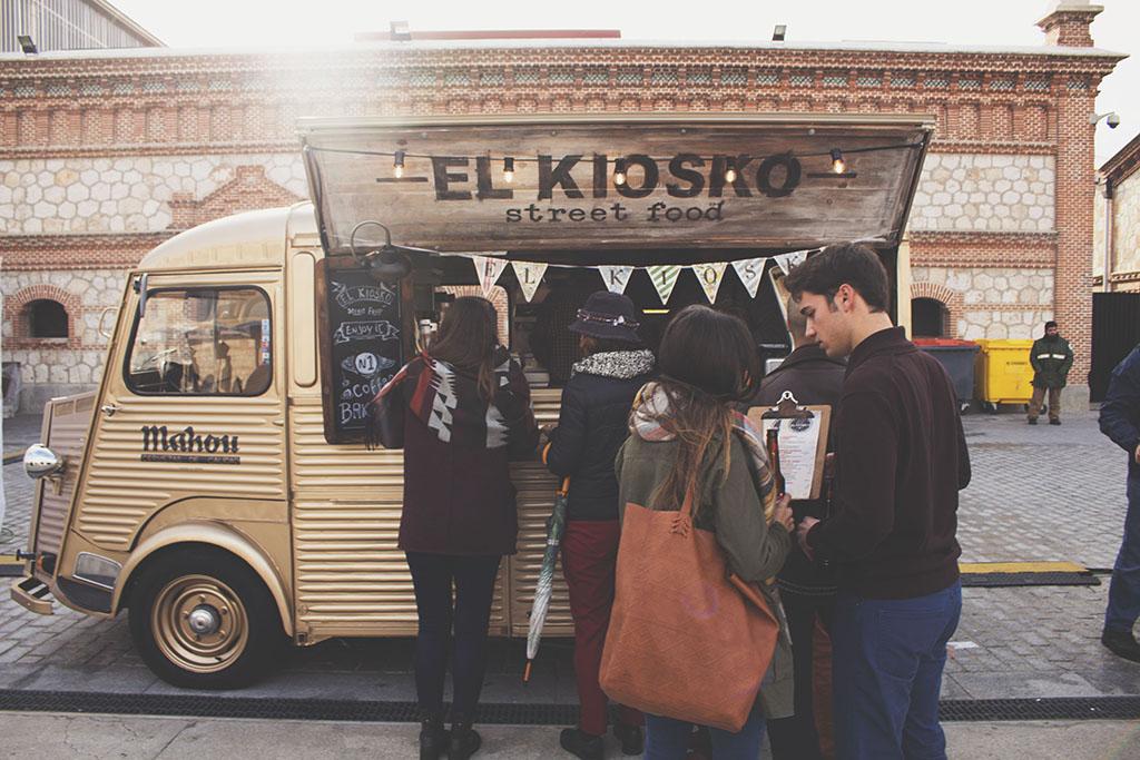 El Kiosko - street food Madrid