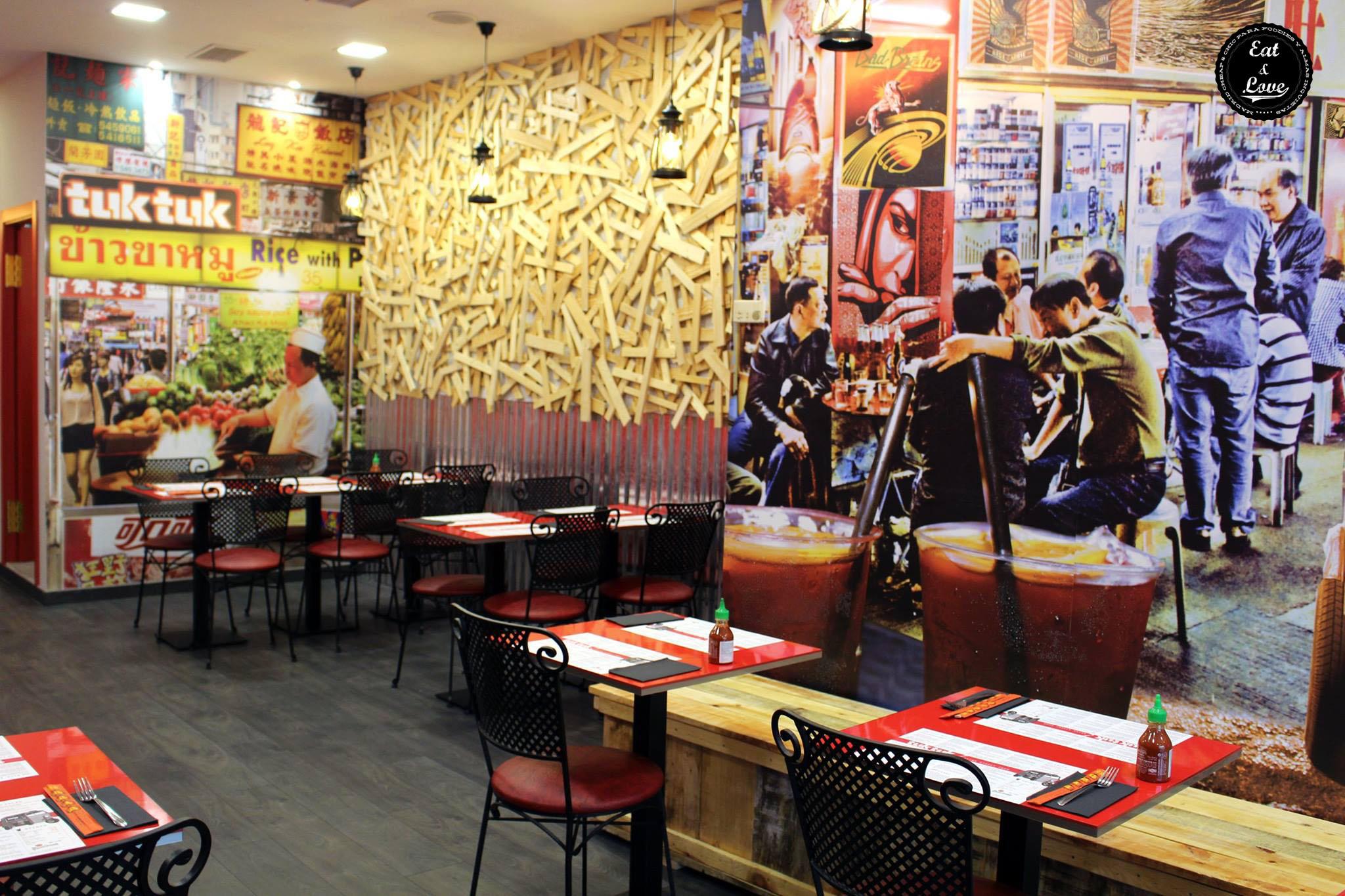 Tuk Tuk General Perón restaurante asiático Madrid