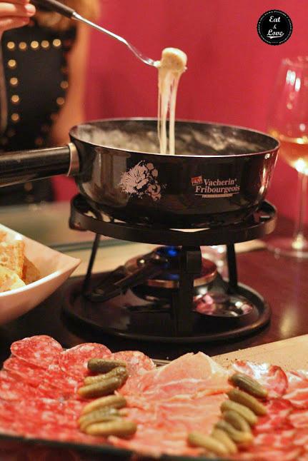 Le gourmand - fondue de queso