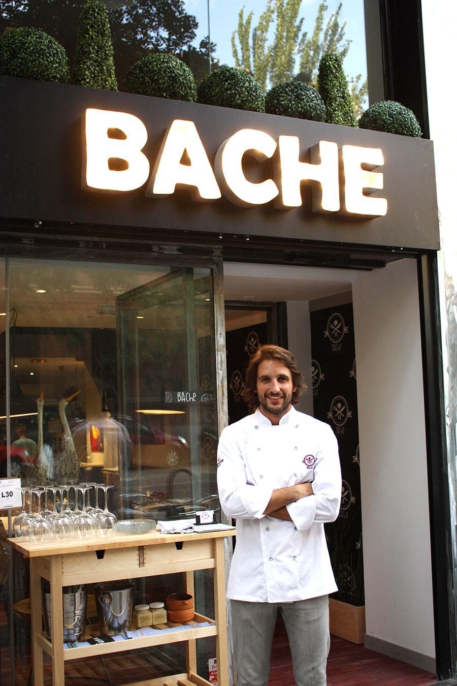 Alejandro Alcántara - Bache restaurante - Madrid