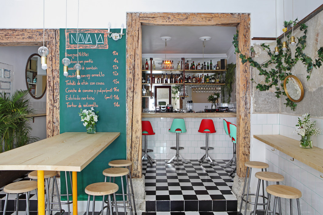 Restaurante navaja Madrid / Foto Revista AD