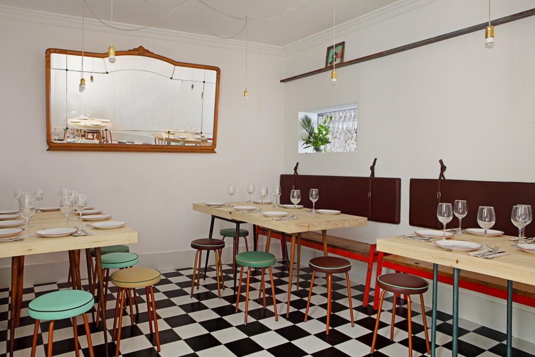 Restaurante navaja Madrid / Foto: Revista AD