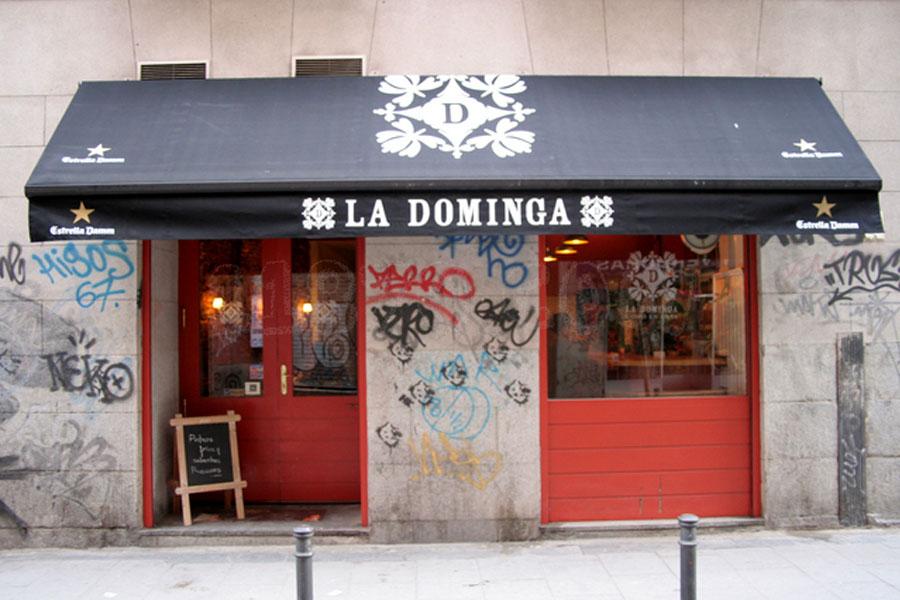 restaurante La Dominga Madrid cena Navidad