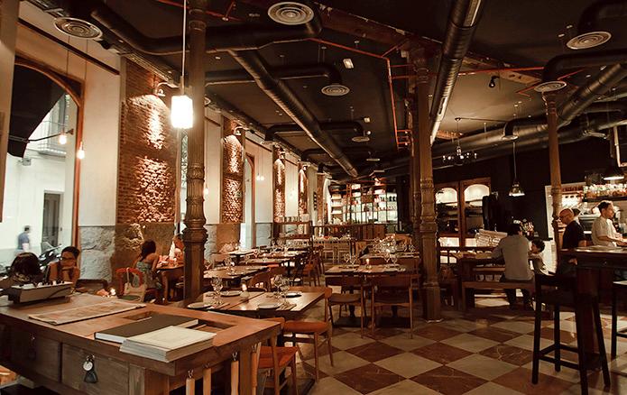 Lamucca restaurante Madrid cena Navidad