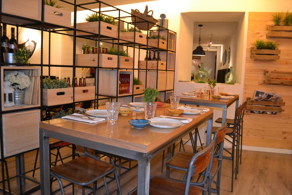 La Vaca y la Huerta restaurante Madrid