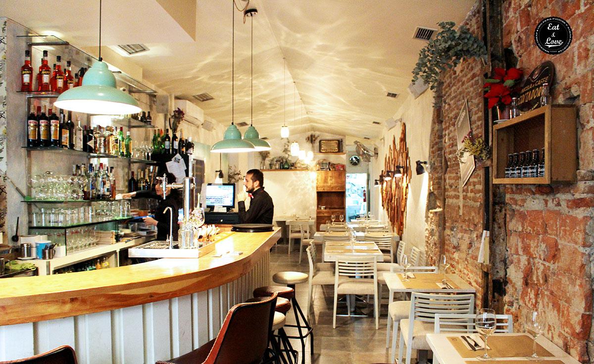 La Casa dei Pazzi restaurante italiano Madrid
