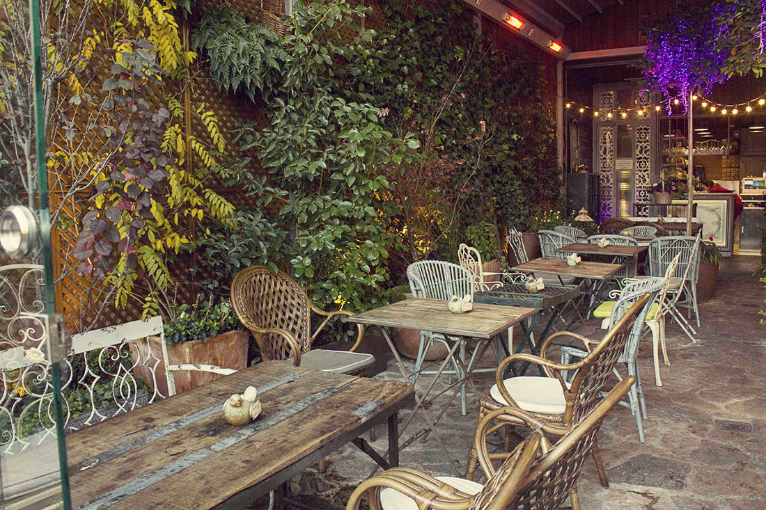 Jard n secreto de salvador bachiller o sis en montera for Cafe el jardin secreto