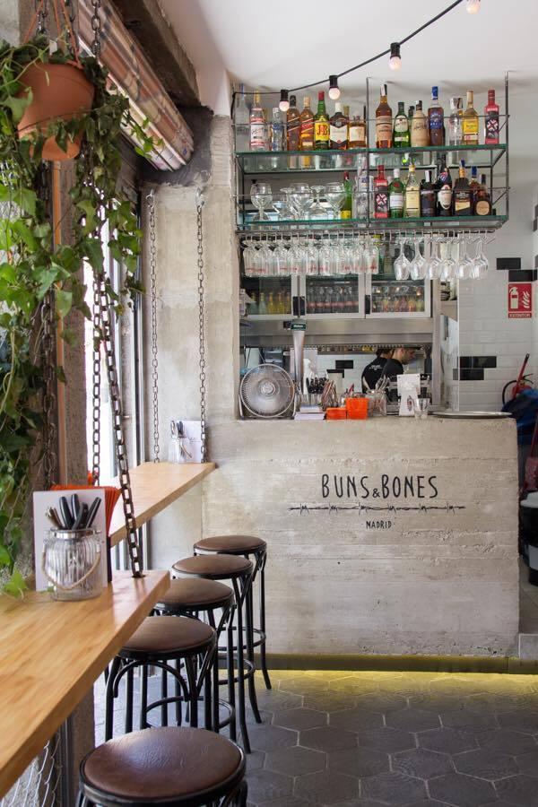 Buns & Bones baos Madrid
