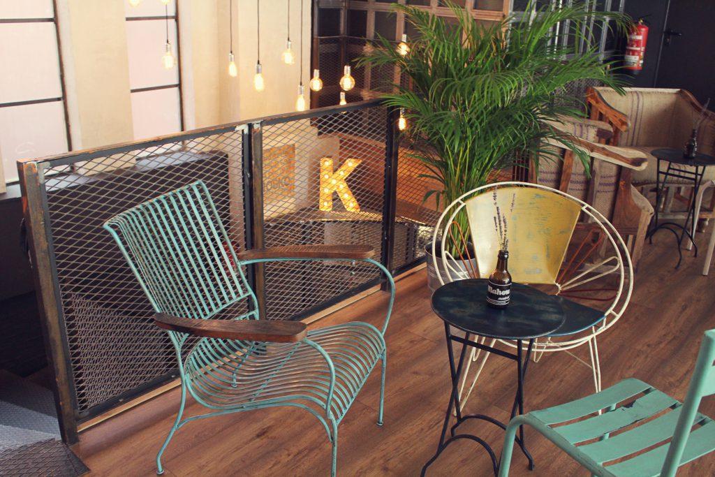 restaurante El Kiosko Ferraz Madrid