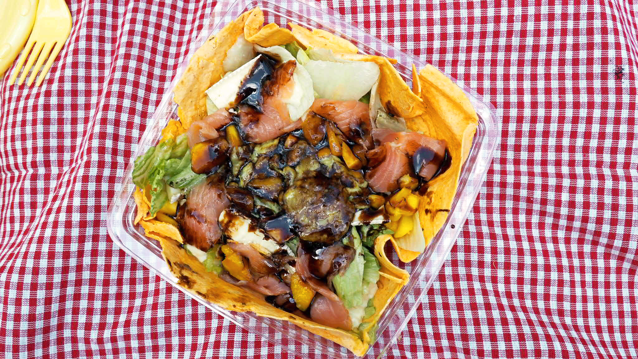 Ensalada de Juicy Avenue - Picnic en Madrid