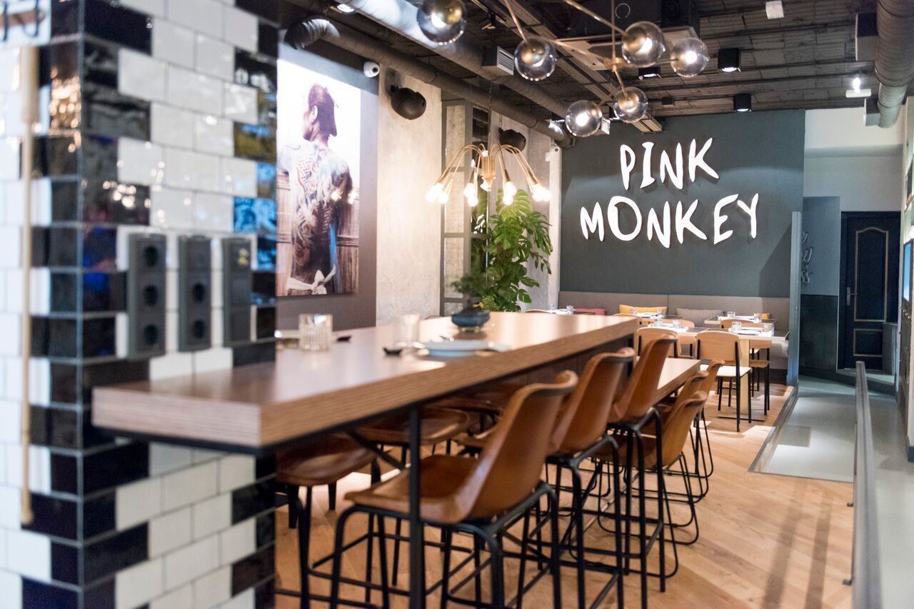 Pink Monkey restaurante Madrid