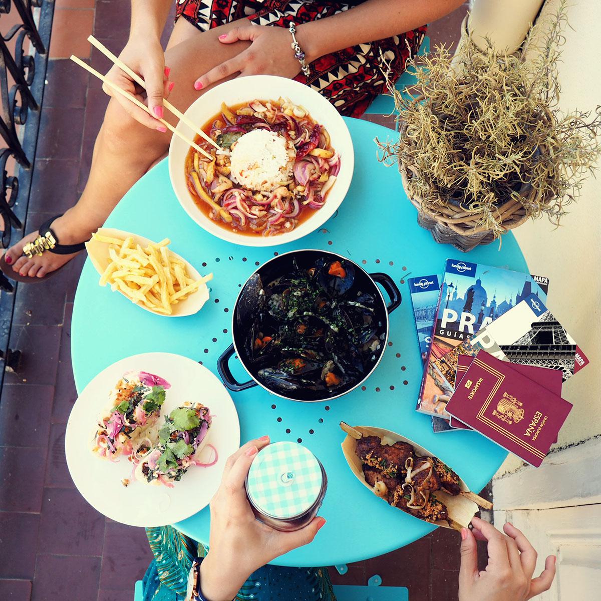 Cocina internacional - Deliveroo - Tuk Tuk y Mejillón