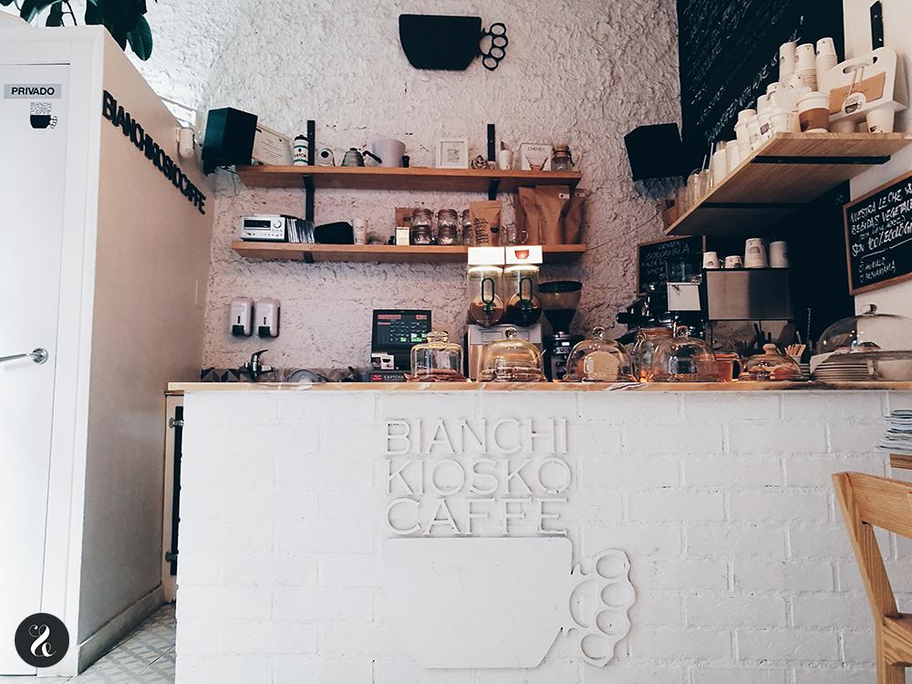 Bianchi Kiosko Caffe café Madrid