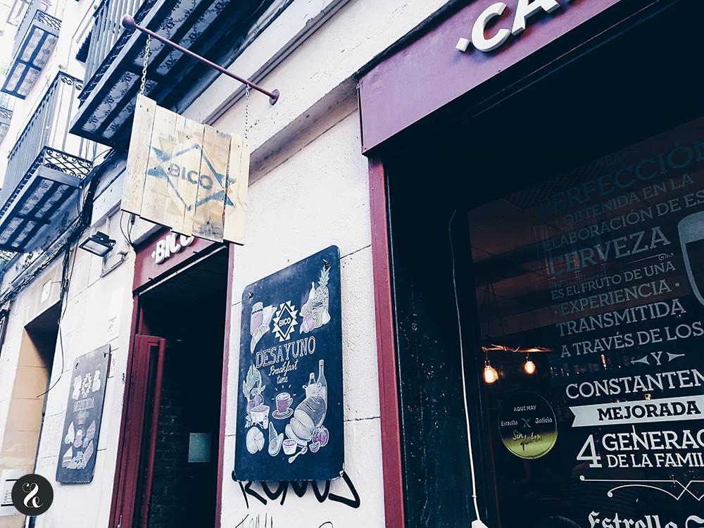 Bico café Madrid