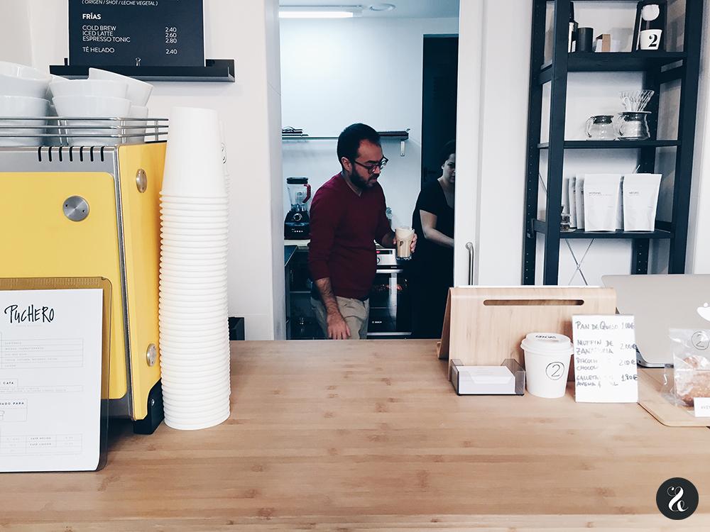 Doce dos café Madrid