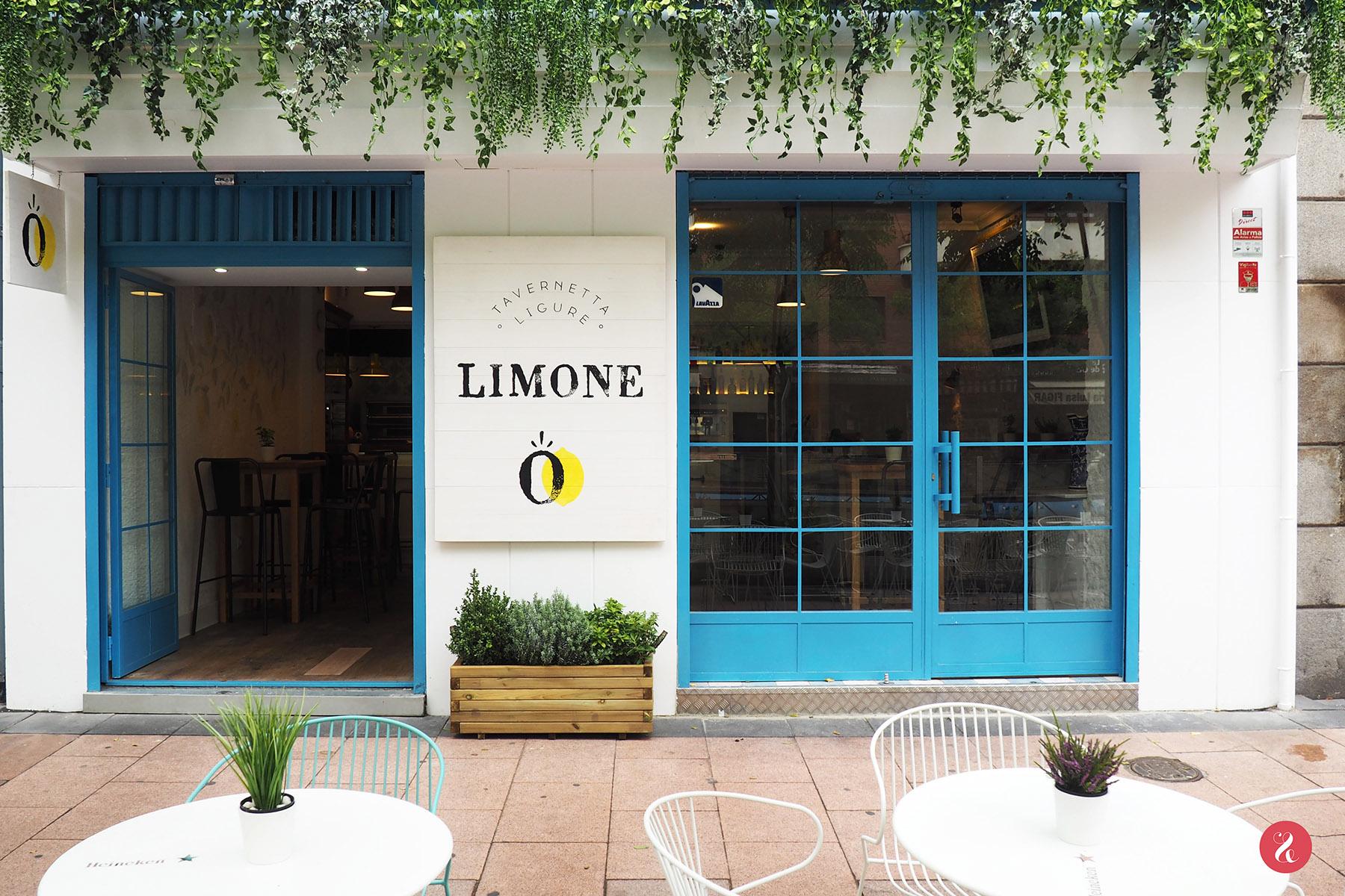 Somos los orgullosos papás de Limone, la primera tavernetta italiana de Madrid, diseñada íntegramente por eat&love studio y nuestro equipo de colaboradores