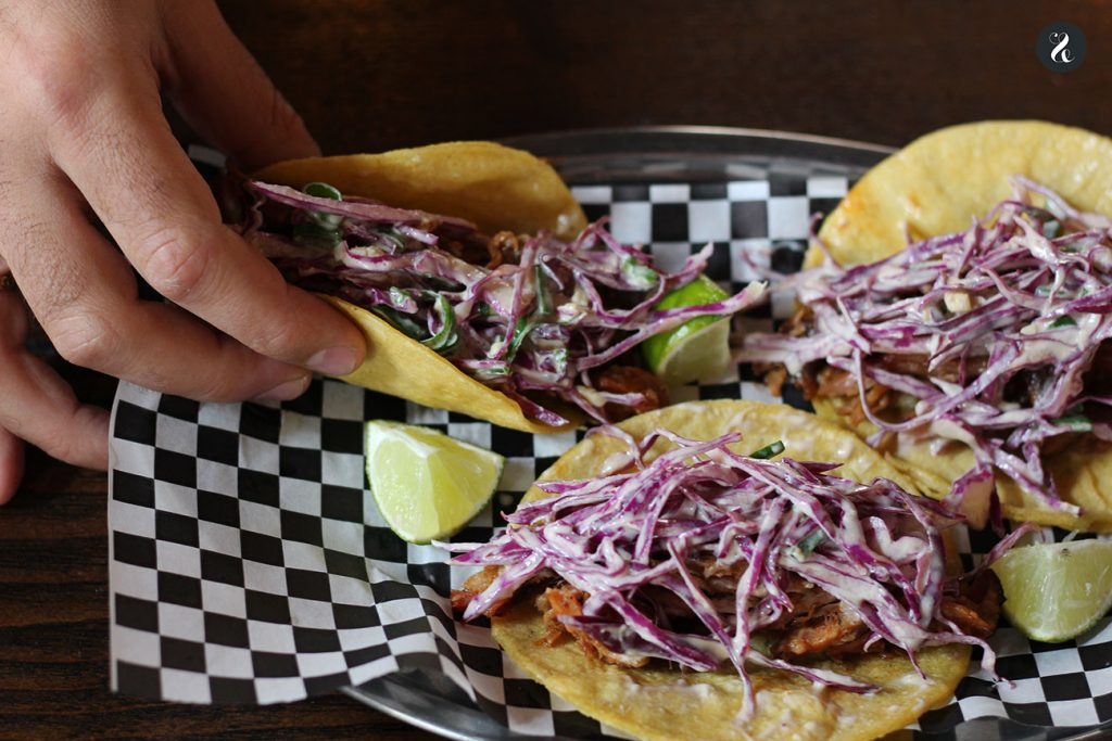 Tacos pulled pork - Jimbo smokehouse Madrid