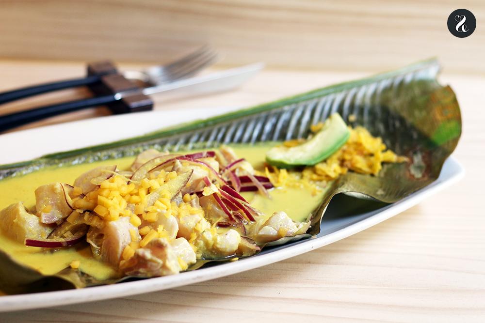 ceviche amazonico Tampu restaurante peruano Madrid