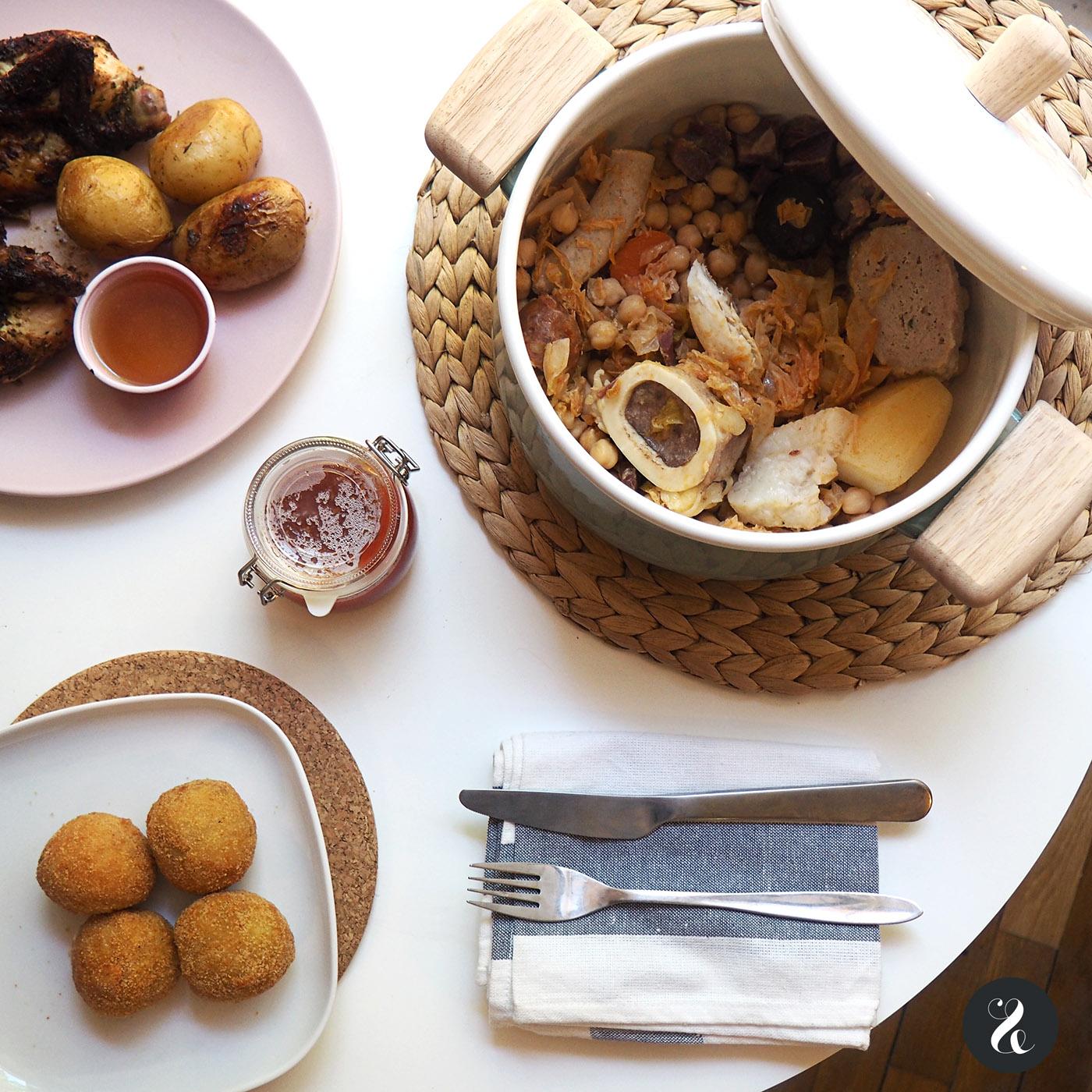 El cocido de Lhardy es una excusa perfecta para cenar en casa calentitos.
