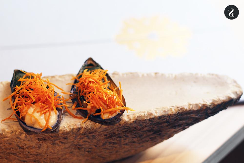 mejillones Tampu restaurante peruano Madrid