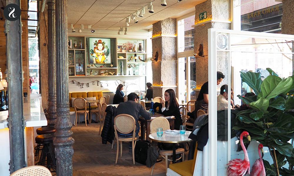 Raro Rare restaurante Madrid