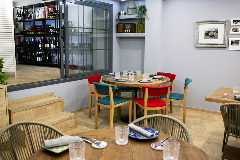 sala vinos Lúbora bistró restaurante Madrid