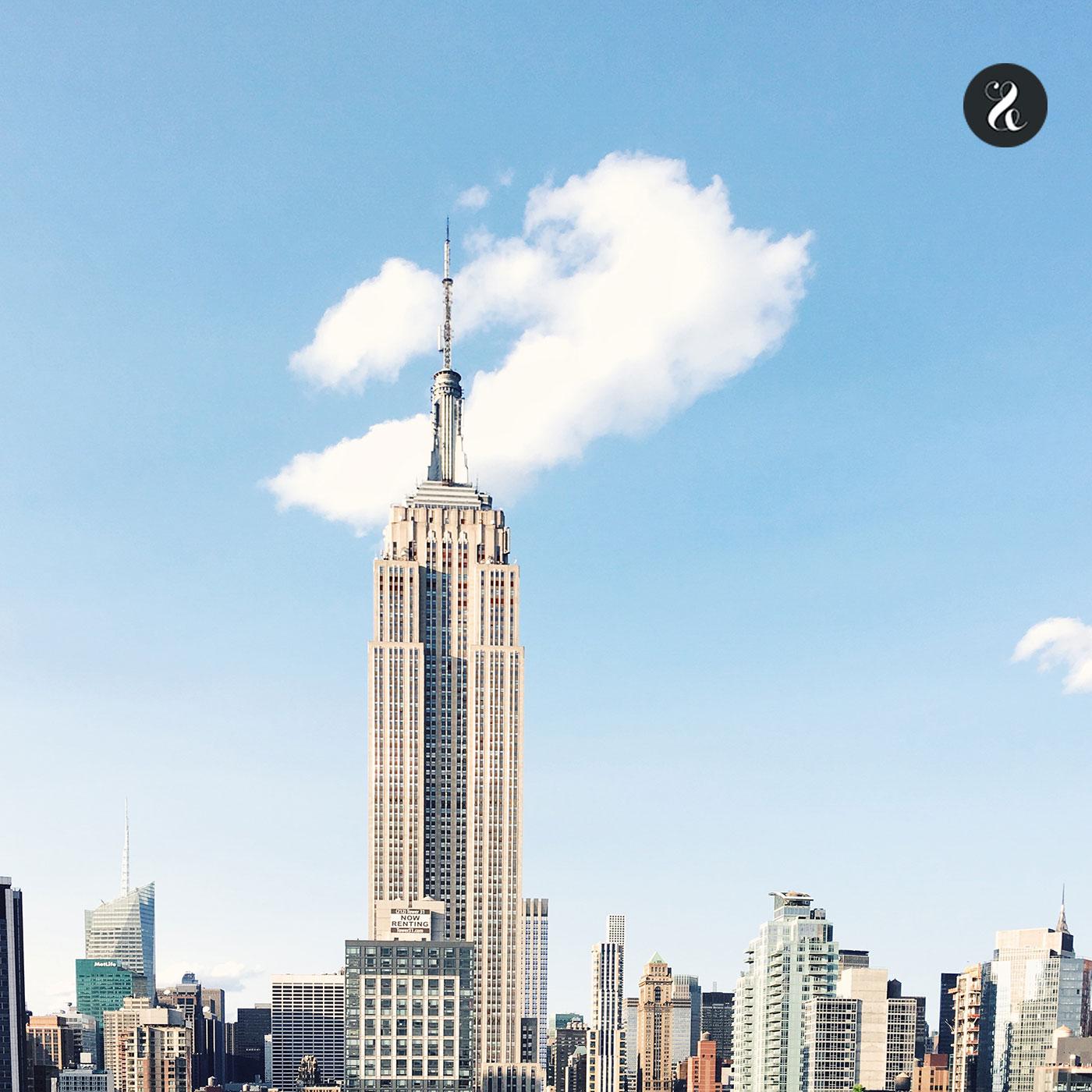 Puedes hacer esta espectacular foto en la terraza de la 230 con la 5ª Avenida.