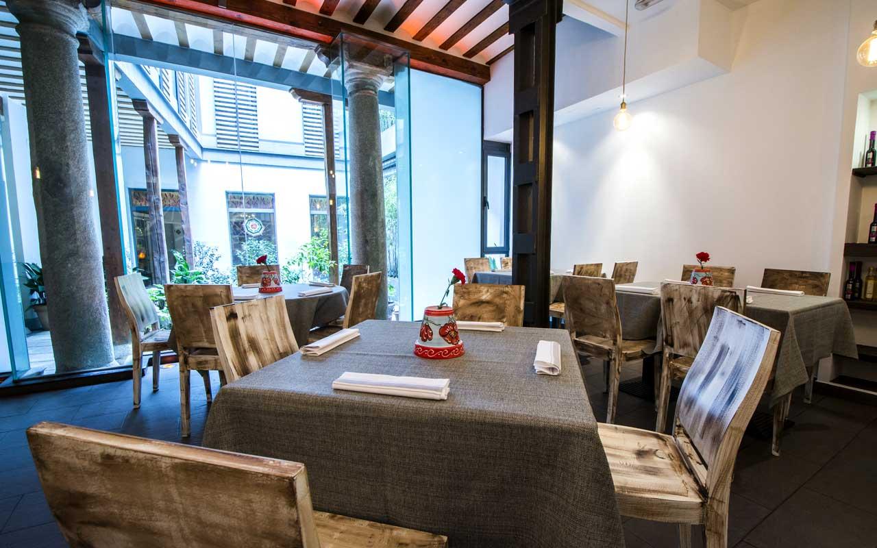 restaurante La Malaje Madrid