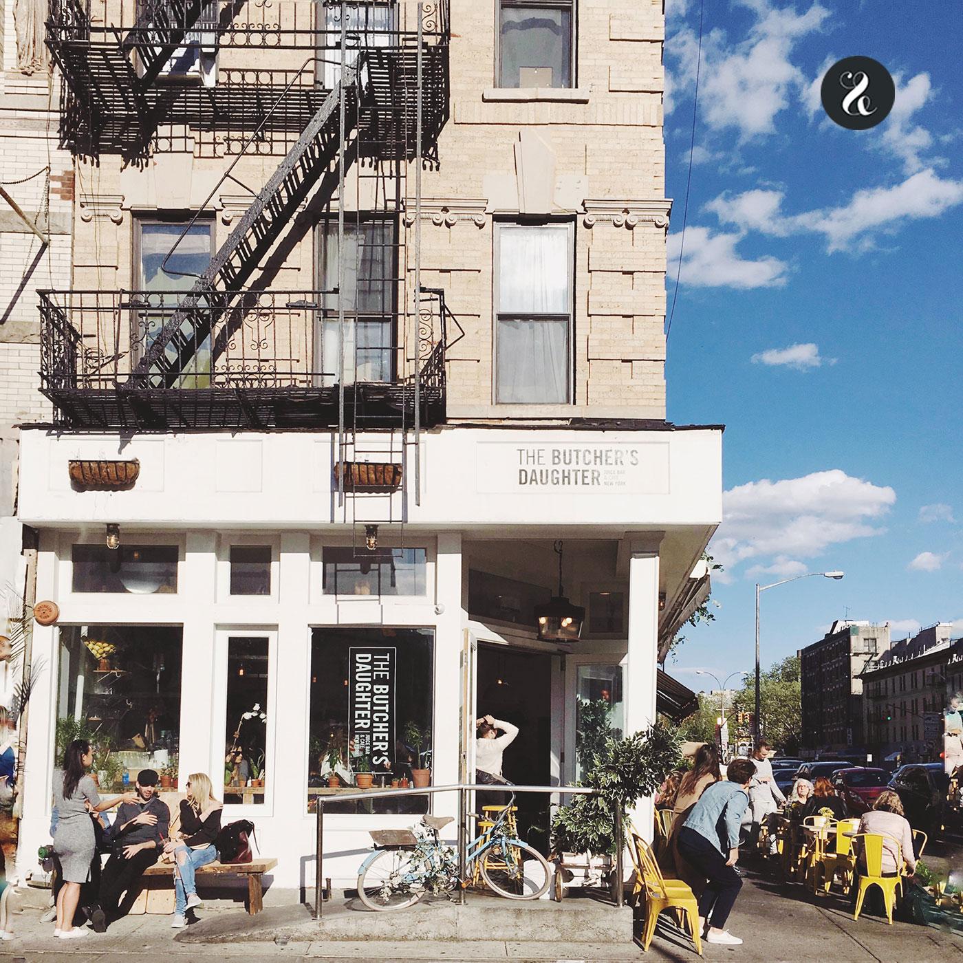 The Butcher's Daughter, en Nolita, es uno de los locales de moda entre los 'modernos' de Nueva YorkThe Butcher's Daughter, en Nolita, es uno de los locales de moda entre los 'modernos' de Nueva York