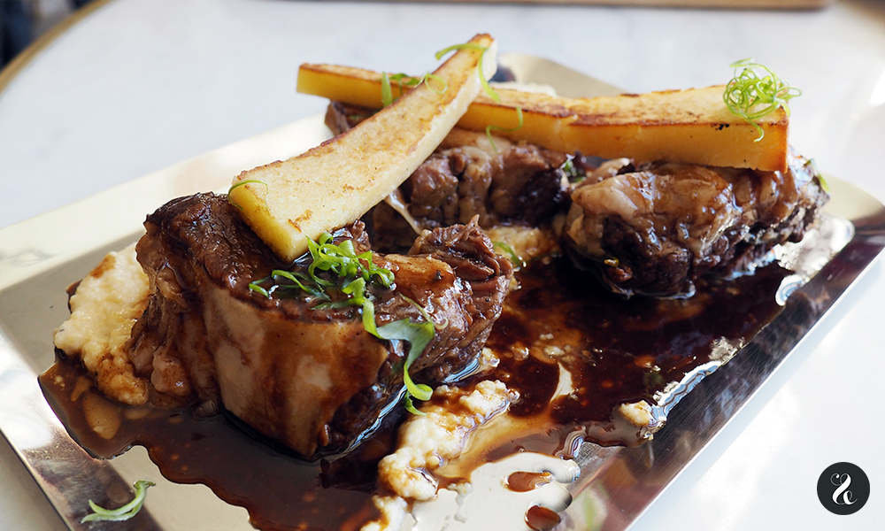 shortribe ternera Raro rare restaurante raw Madrid