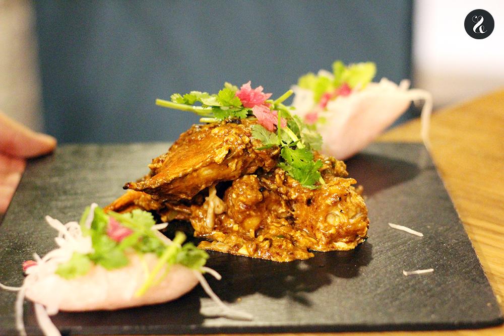 chili crab Lamian restaurante ramen asiático Madrid