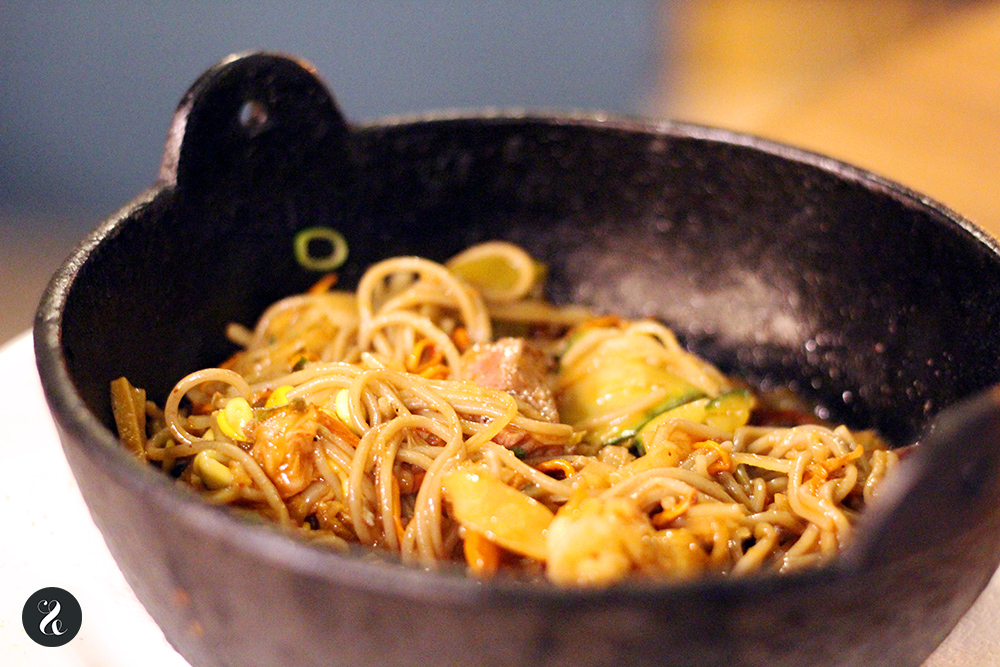 sabores en la mesa Lamian restaurante ramen asiático Madrid