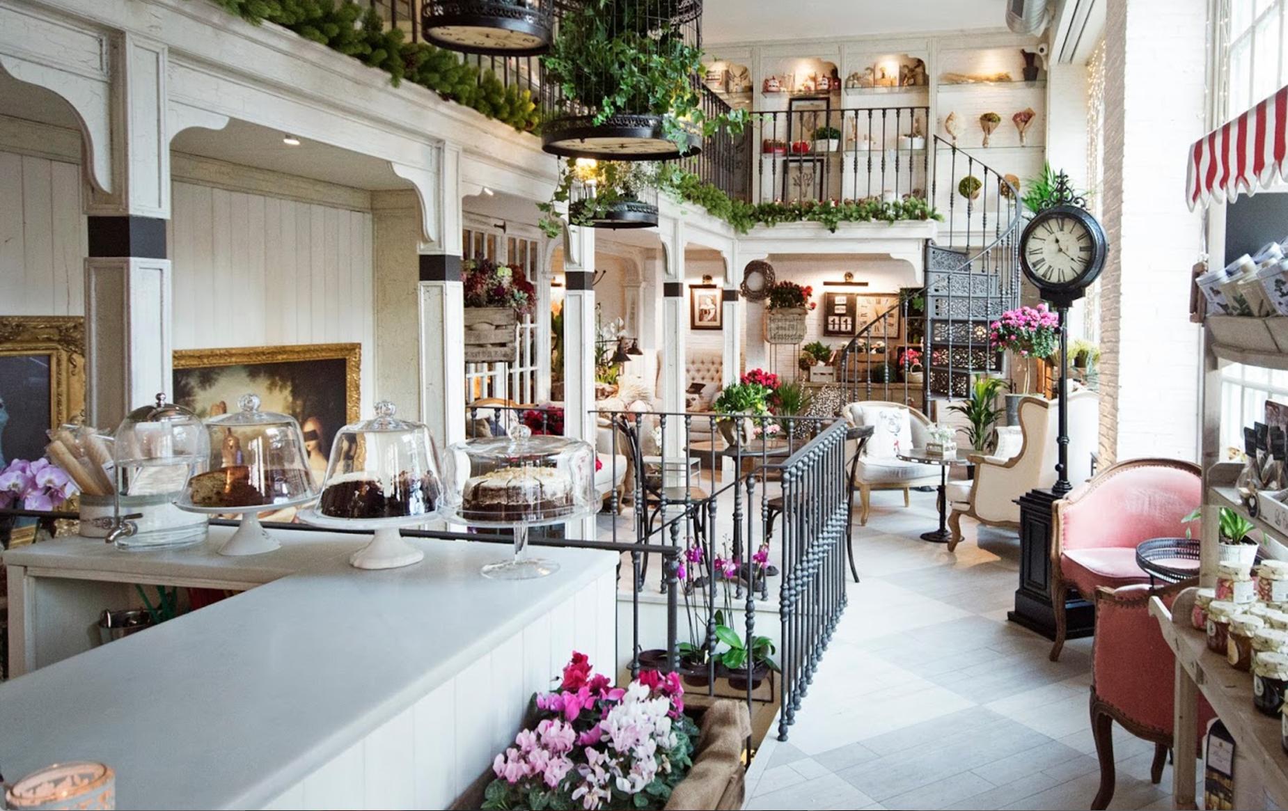 Jardin des Fleurs café hygge Madrid