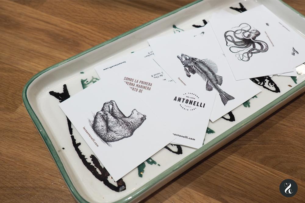Ilustraciones para la identidad de El Loco Antonelli diseñadas por nuestro compi Ángel Espinosa