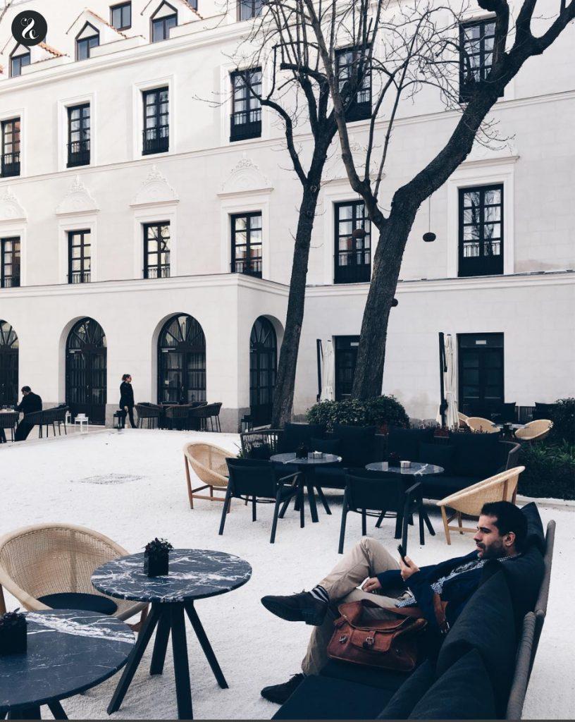 Dos Cielos Meliá Palacio de los Duques Madrid