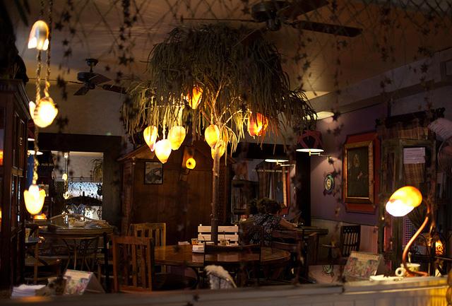 El Jardín Secreto restaurante hygge Madrid
