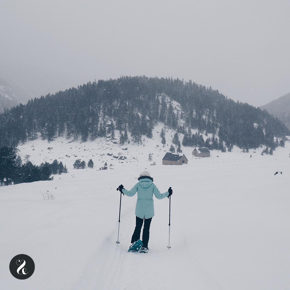 Excursión con raquetas de nieve Tredós - Valle de Arán