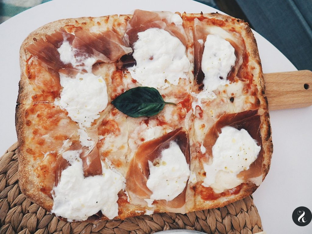 Pizza San Danielle de Kilómetros de Pizza