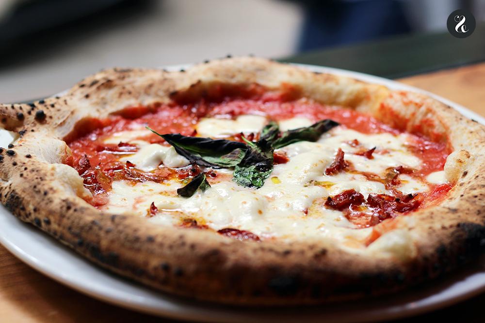 Pizza diavola - Grosso Napoletano - Madrid