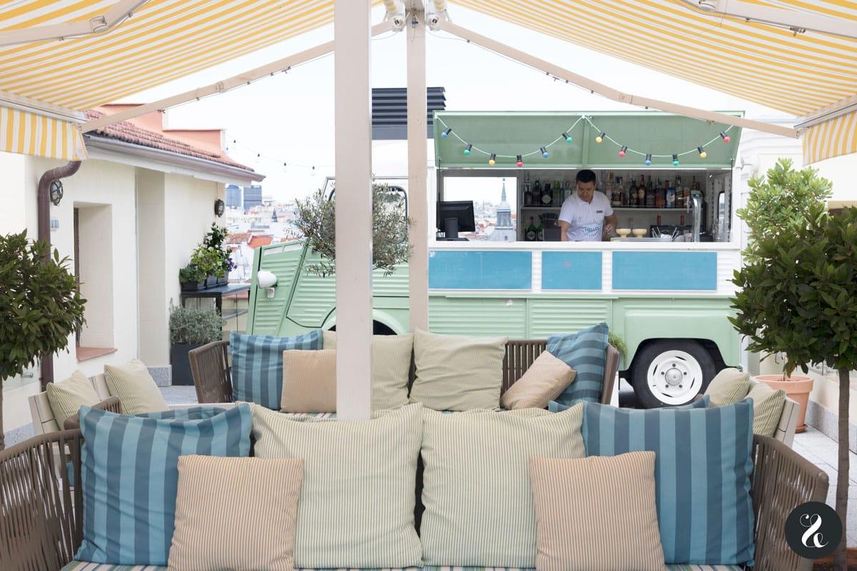 mejores terrazas Madrid - Mint Roof