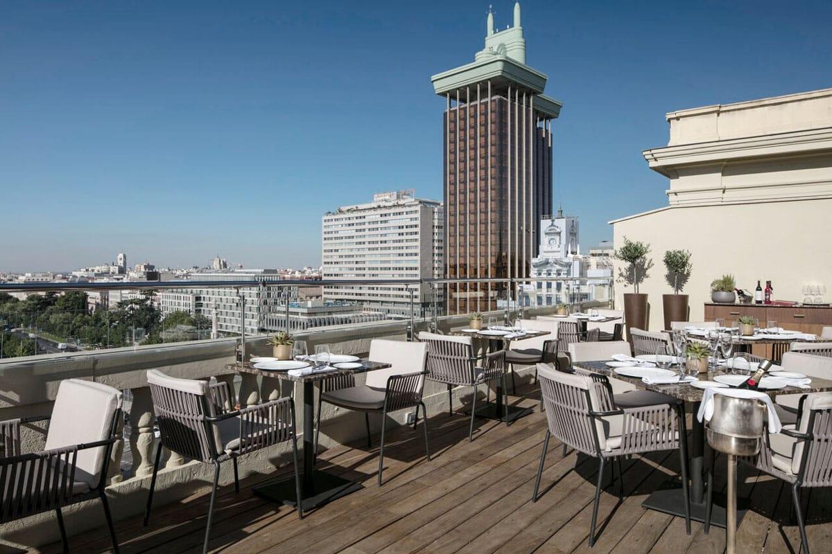 mejores terrazas Madrid - Aduana