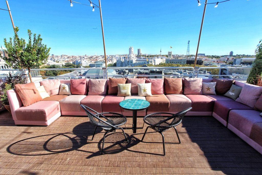 mejores terrazas Madrid - Casa Suecia