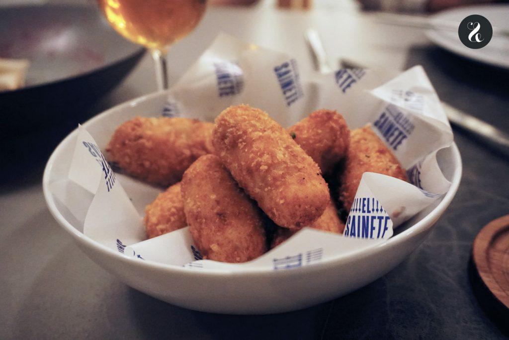 Sainete Madrid cerveza restaurante croquetas