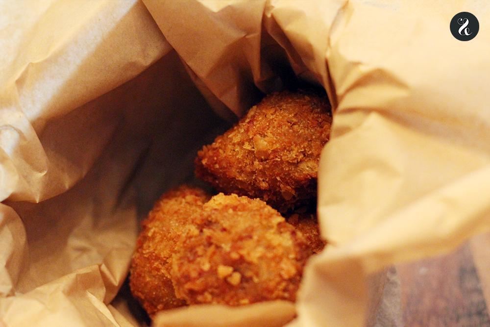 croquetas restaurante fusión Kuoco Madrid