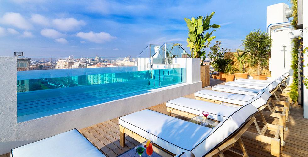 mejores terrazas Madrid - Cielo de Alcalá - H10
