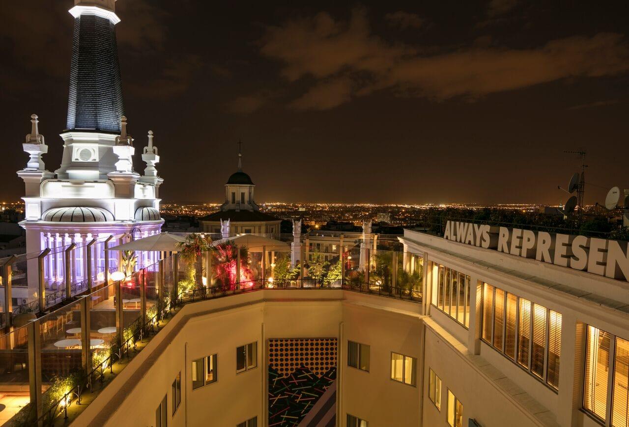 mejores terrazas Madrid - Radio Rooftop Bar