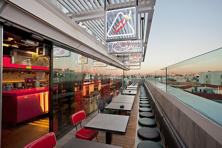 StreetXo - Terrazas en Madrid comer bien